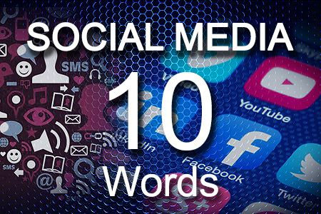 Social Media Posts 10 words