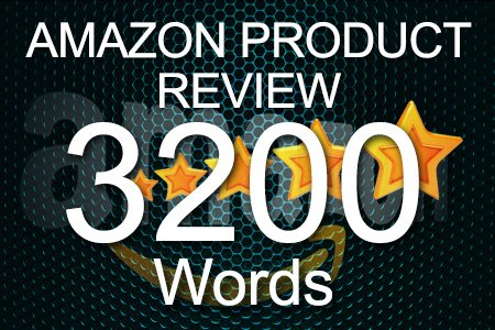 Amazon Review 3200 words