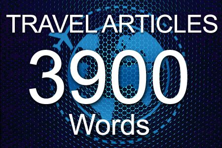 Travel Articles 3900 words