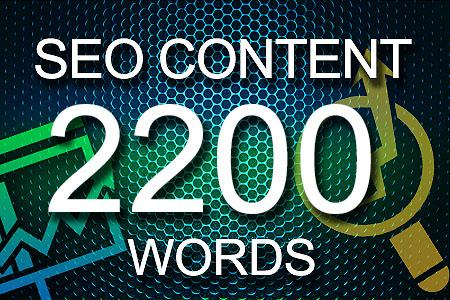Seo Content 2200 words