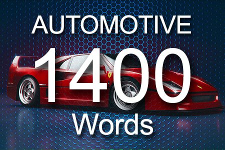 Automotive Articles 1400 words