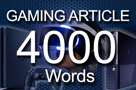 Gaming Articles 4000 words