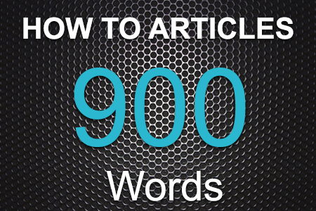 How To Articles 900 words