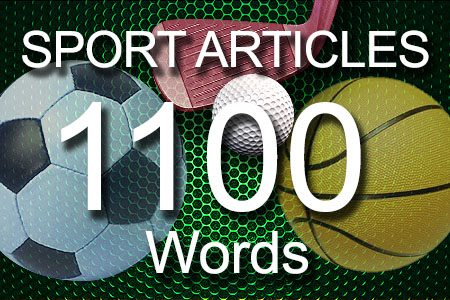 Sport Articles 1100 words