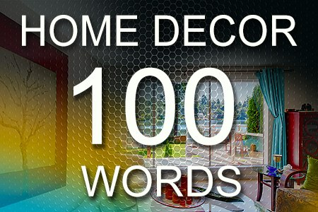 Home Decor Articles 100 words