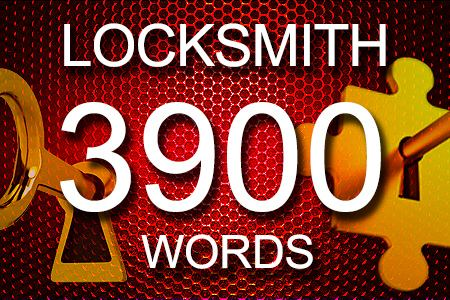 Locksmith Articles 3900 words