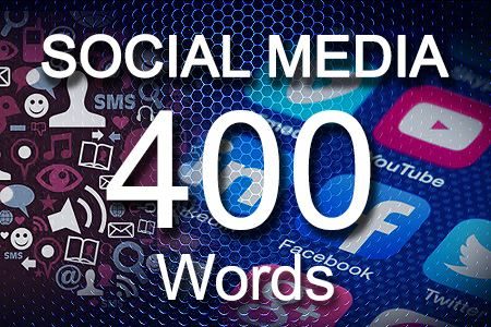 Social Media Posts 400 words