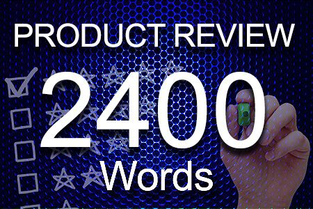 Product Review 2400 words