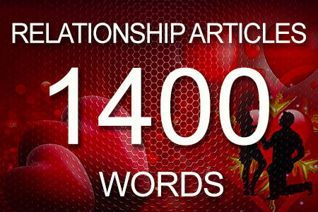 Relationship Articles 1400 words