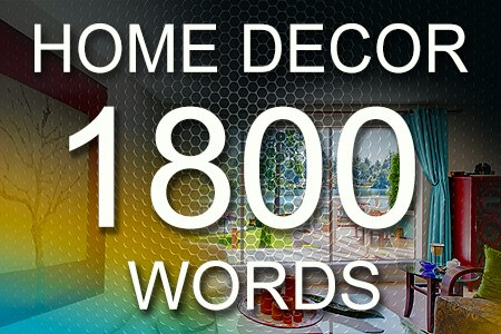 Home Decor Articles 1800 words