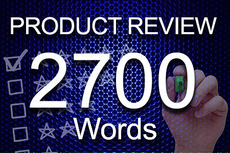 Product Review 2700 words
