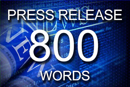 Press Release 800 words