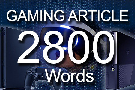 Gaming Articles 2800 words