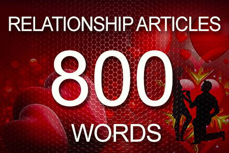 Relationship Articles 800 words