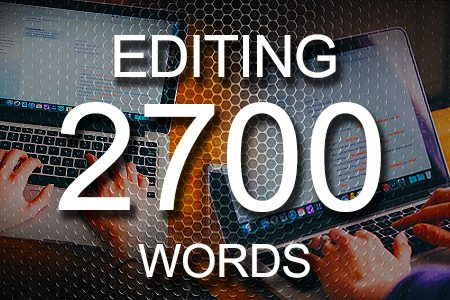 Editing Services 2700 words