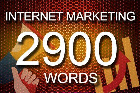 Internet Marketing 2900 words