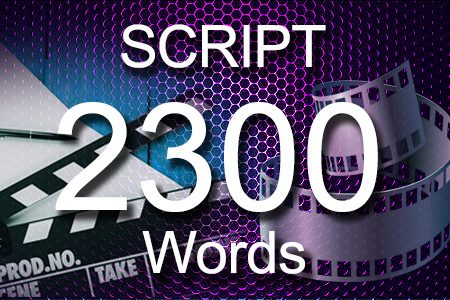 Scripts 2300 words