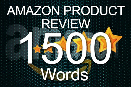 Amazon Review 1500 words
