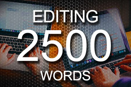 Editing Services 2500 words