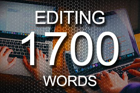 Editing Services 1700 words