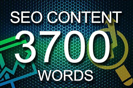 Seo Content 3700 words