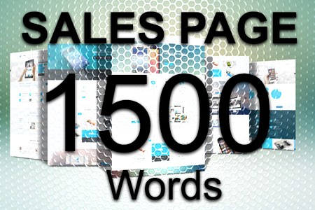 Sales Page 1500 words