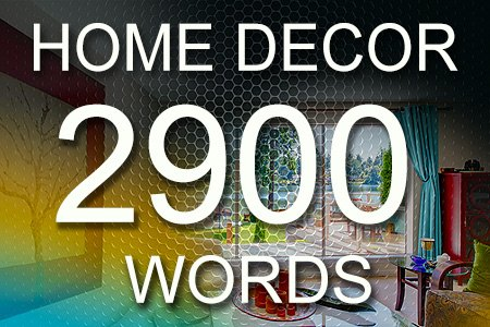 Home Decor Articles 2900 words