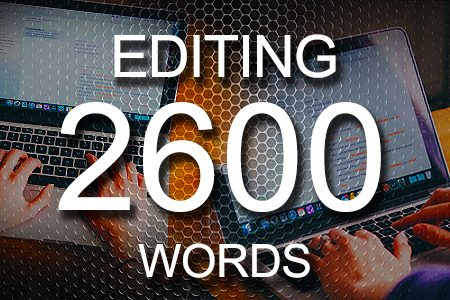 Editing Services 2600 words