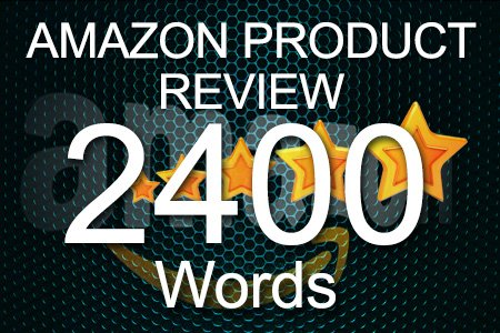 Amazon Review 2400 words