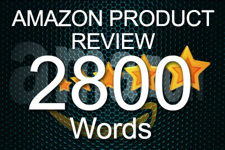 Amazon Review 2800 words