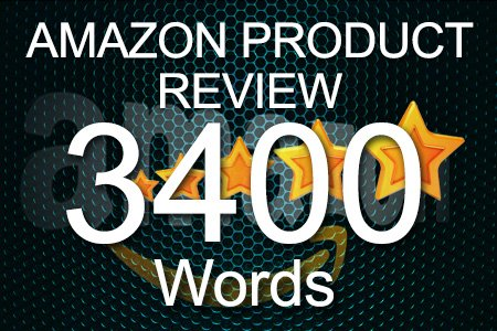 Amazon Review 3400 words