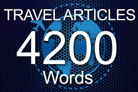 Travel Articles 4200 words