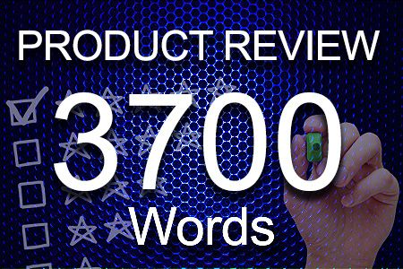 Product Review 3700 words