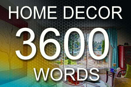 Home Decor Articles 3600 words