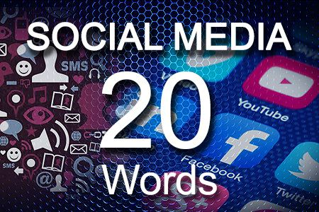 Social Media Posts 20 words