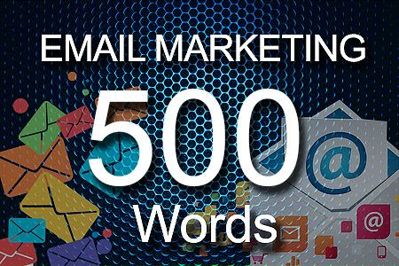 email Marketing 500 words
