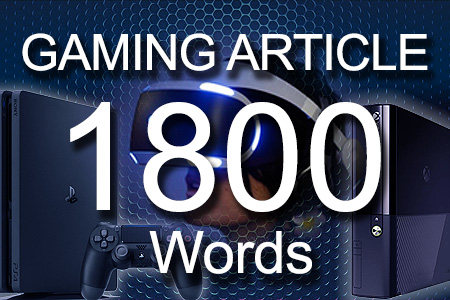 Gaming Articles 1800 words