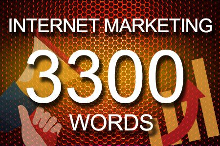 Internet Marketing 3300 words