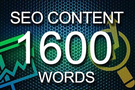 Seo Content 1600 words