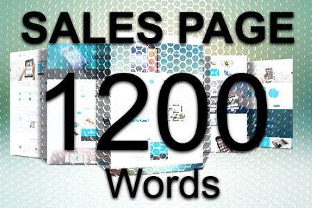 Sales Page 1200 words