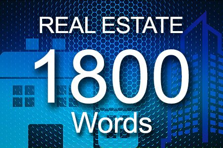 Real Estate 1800 words