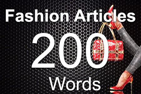 Fashion Articles 200 words