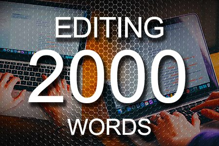 Editing Services 2000 words