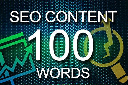Seo Content 100 words