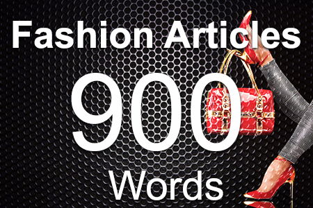 Fashion Articles 900 words