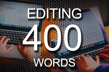 Editing Services 400 words