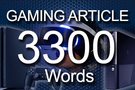 Gaming Articles 3300 words