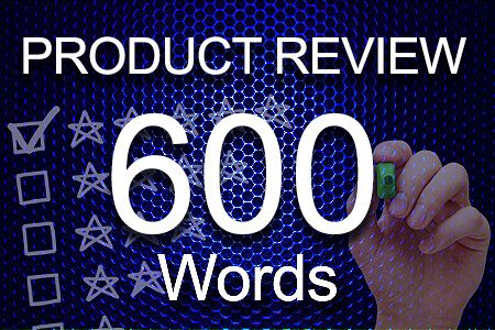 Product Review 600 words