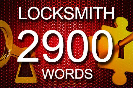 Locksmith Articles 2900 words
