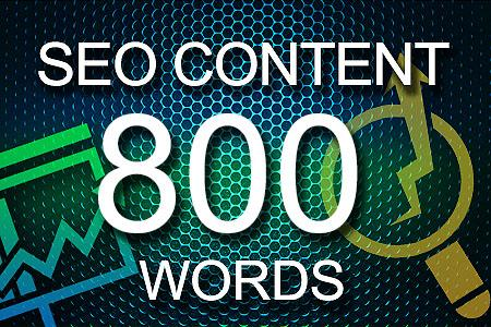 Seo Content 800 words
